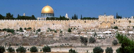 """Let's go to Jerusalem to ask the Lord to bless us...I'm going...come with me. Let's go!""  Zechariah 8:21 TLB"